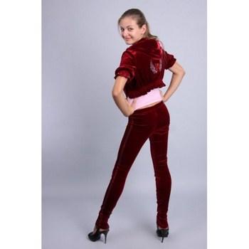 Вельветовый спортивный костюм женский