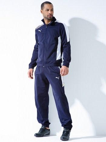 мужской синий спортивный костюм