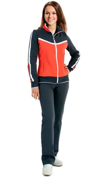 женский спортивный костюм - эластик